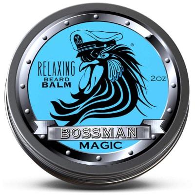 Image of the Bossman beard balm tin