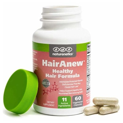 Image of HairAnew vitamin capsules