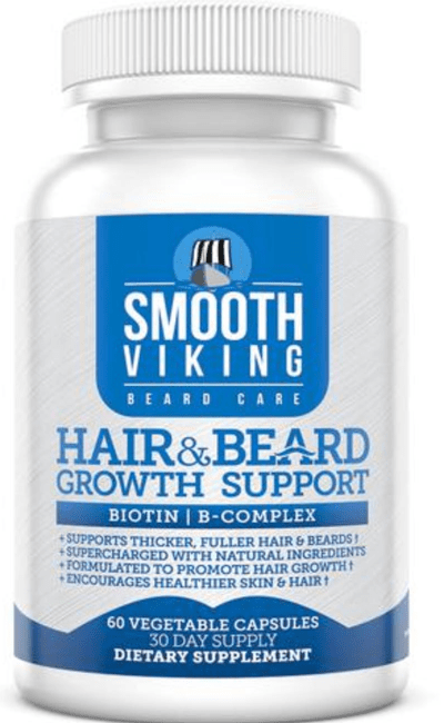 picture of smooth viking growth vitamins for hair and beard