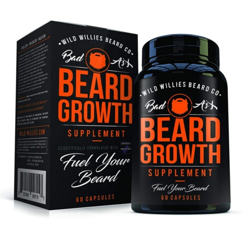 Product image of Badass Beard Growth supplement made by Wild Willies