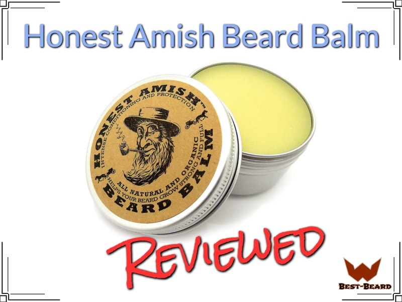 Honest Amish Beard Balm Review (2019)