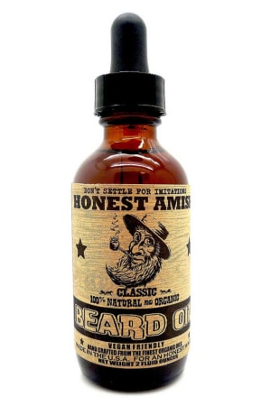 A product image of Honest Amish beard oil