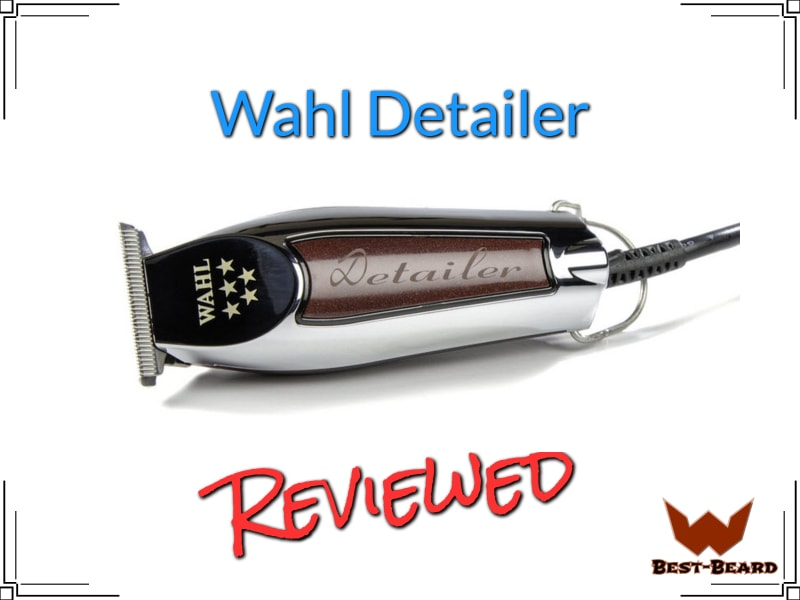 The featured image for the Wahl Detailer Review article showing a picture of the actual trimmer