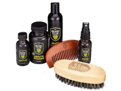 Product image of the Beard Club beard kit