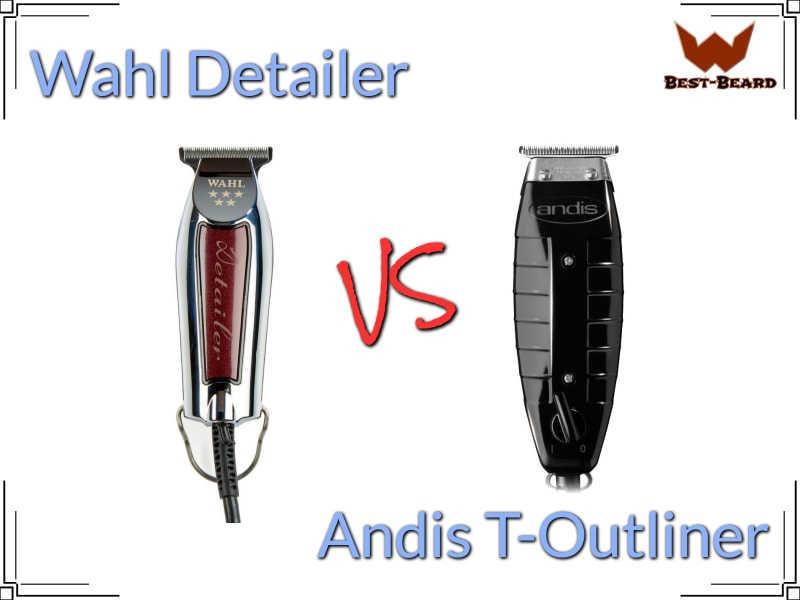 Featured image for the Wahl Detailer vs Andis T-Outliner comparison review