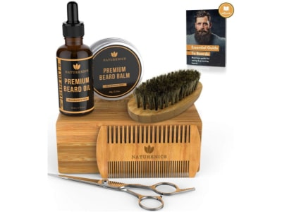 The Naturenics beard kit product image